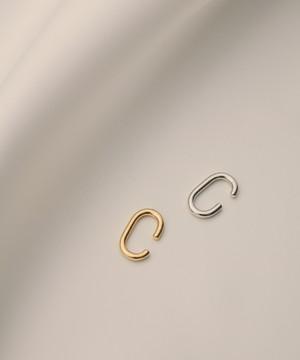 Oval Ear Cuff