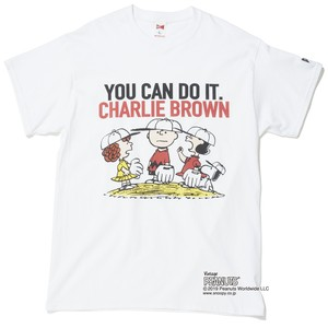 "PEANUTS ""YOU CAN DO IT"" - WHITE"