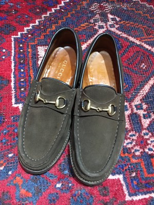 .GUCCI LEATHER HORSE BIT LOAFER MADE IN ITALY/グッチレザーホースビットローファー 2000000033549