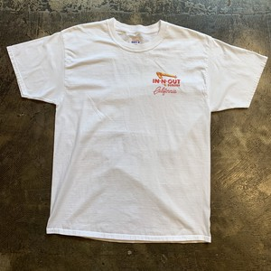 90's IN-N-OUT BURGER インアンドアウトバーガー プリントTee