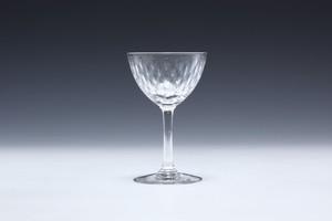 ⑫バカラ パリ リキュールグラス  Baccara Paris Liqueur Glass