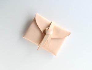ori card case / 折りカードケース #beige / ベージュ