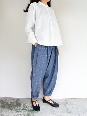 yuino PLEATED PANTS Dot