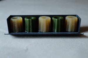 カヌレ羊羹[ 栗 × 抹茶 ]
