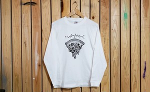PIZZA design LONG T-shirts(オフホワイト)