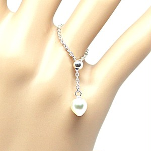 あこや本真珠のしずくのチェーンリングI フリーサイズ