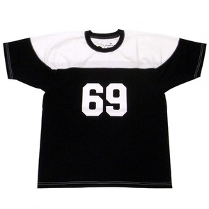 RATS(ラッツ) / FOOT BALL 69 T-SHIRT(18'RTC-0302)(フットボールTシャツ)