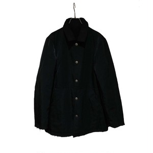 COMME des GARCONS HOMME 02AW WOOL NYLON REVERSIBLE JACKET