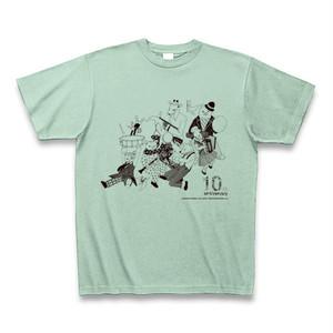 【オンラインショップ限定】Tシャツ-10th ANNIVERSARY-(アイスグリーン)