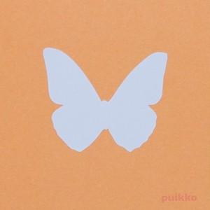 カット済みプラバン(レジン用プレート) 蝶