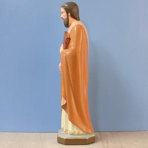 聖パウロ像【34cm】室内用カラー仕上げ