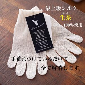 生糸リペアグローブ(手袋のみ) 【Hummingbird】