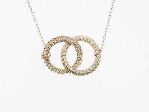 【K18】0.50ct UP ダイヤモンドネックレス