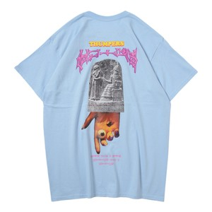 HAMMURABI POCKET S/S TEE(SKYBLUE)[TH9S-002]