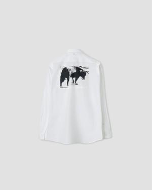 OAMC DUANE SHIRT, DAIDO (DOG) White OAMR603186