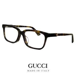 GUCCI グッチ レディース メガネ ウェリントン型 gg0557oj 002 眼鏡 ジャパン アジアンフィットモデル