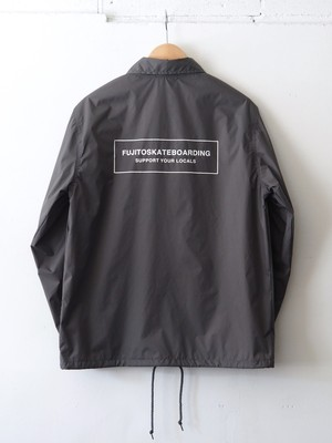 FSB Coach Jacket Box Logo ver. Gray,Black