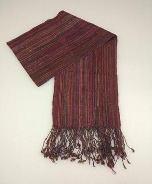DEKIブータン産ストール17013 Lac Wild silk(野蚕) 100%