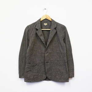 SACK COAT (COTTON SHARKSKIN)