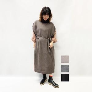 TICCA(ティッカ) スタンドネックロングベスト 2020秋物新作[送料無料]