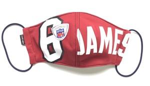 【デザイナーズマスク 吸水速乾COOLMAX使用 日本製】NFL  SPORTS MASK CTMR 1125029