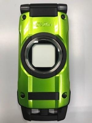 CASIO au携帯電話 CAY01 G'z One TYPE-X グリーン 白ロム