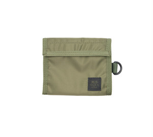 MIS-1034 FOLDING WALLET Packcloth_OLIVE