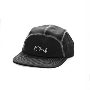 POLAR SKATE CO. Zig Zag Sport Cap BLACK PSC ポーラー キャップ