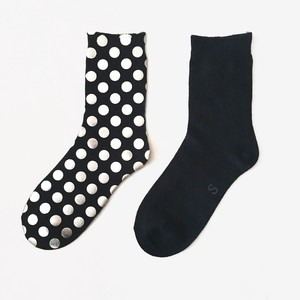 METAL SOX (1.5DOT) BLACK X SILVER