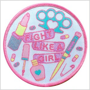 SEW-ON Girl Fighter Patch