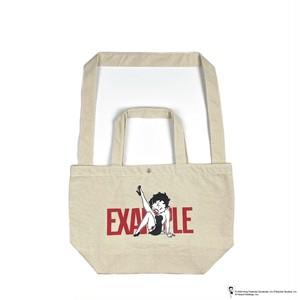 EXAMPLE x BETTY BOOP 2WAY BAG / WHITE x WHITE
