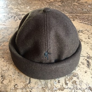 VOO/MELTON ROLL CAP VOO-A-162 [BROWN]