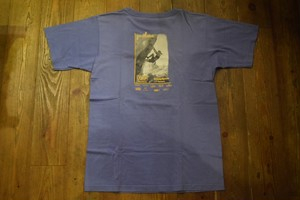 USED USA製 OUTLAND Cheap Sports Tシャツ S ベネフィシャルT's 紫