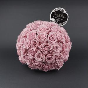 『Ballon de Rose (バルーン・ドゥ・ローズ)』Size L (直径 約22cm バラ 約90本)