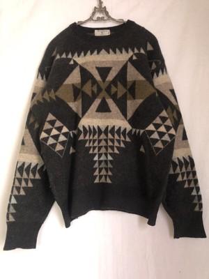 "[Men's] Valentino knit sweater ""Native gray"""