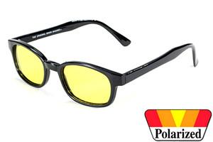 Original KD's  biker shade  - Polarized Yellow# KD20129