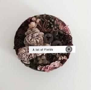 A lot of Fields × MY'S Season Flower  antique pink