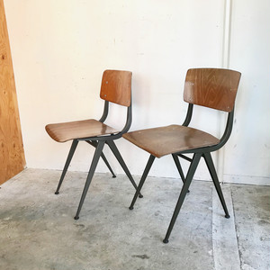 Marko (マルコ) Industrial Chair Netherlands Vintage オランダ グレー