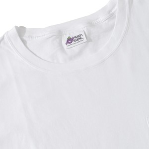 WHO'S MAKING POCKET BIG T-SHIRT(WHITE)(2L / 4L)