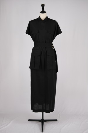 【EBONY】work dress - black
