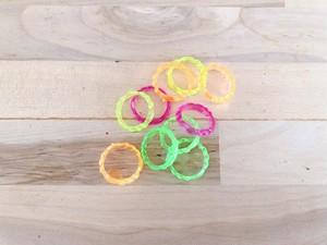プラスチックピンキーリング 5個