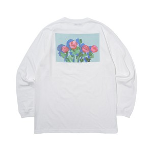 Rose LS Tee WHITE