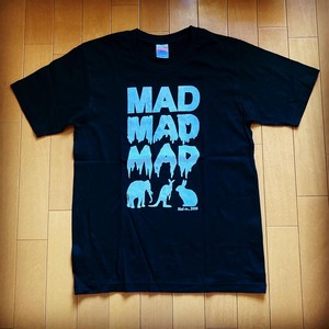 MAD ANIMAL T-Sirts White print on black