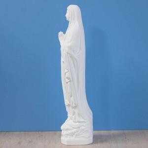 ルルドの聖母像【33cm】室内用白色仕上げ