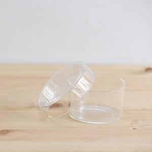 【ガラス容器】深底ガラスシャーレS(直径72xh43mm)