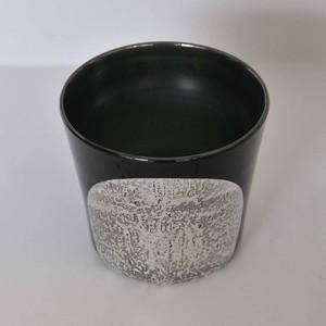 アキノヨーコ ALMそばちょく型カップ 黒(ya-41)
