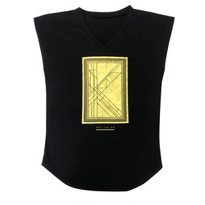 【ART THE KO】プレオーガニックコットン使用ラグランTシャツ《レディースM》
