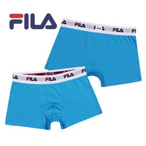 【FILA】フィラ プレーン ブルー アンダーウェア セレクト♪ / メンズ 無地 ボクサー パンツ