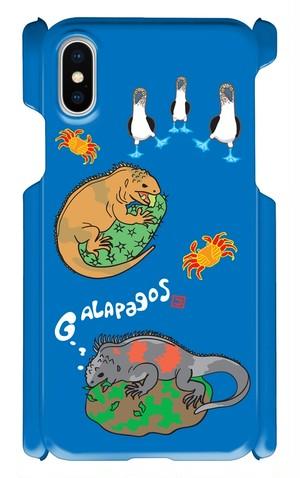 ガラパゴスiPhoneXケース