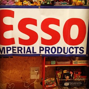 US GARAGE BANNER ESSO
